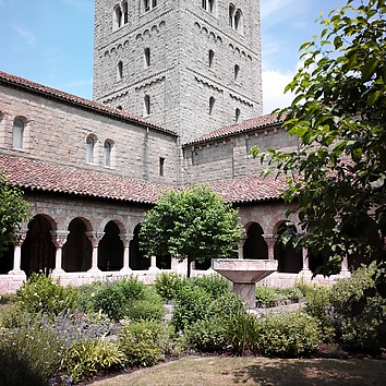 Palm Sunday at the Cloisters
